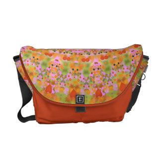 Happy Hippy Mandala Messenger Bag
