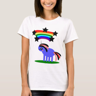 Happy Hippy Rainbow Unicorn T-Shirt