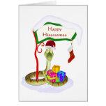 Happy Hisssssmas Greeting Cards
