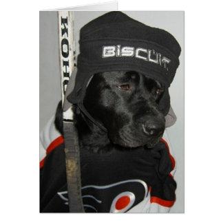 Happy Hockeyless Holiday from 2004 Greeting Card