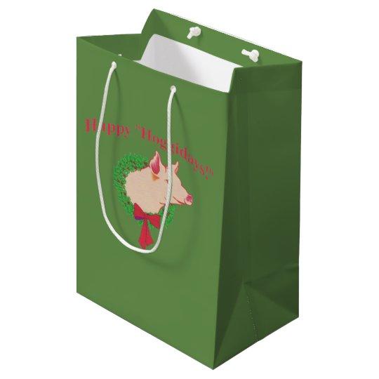 Happy Hoggidays gift bag