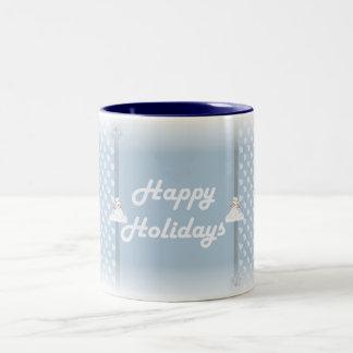 happy hoidays coffee mug