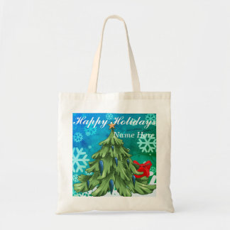 Happy Holiday 2017 Tote Bag