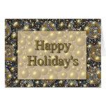 Happy Holiday's Card