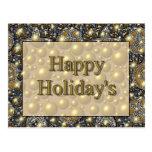 Happy Holiday's Postcard