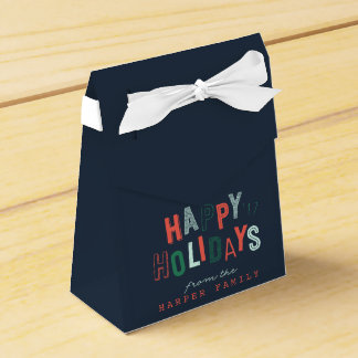 HAPPY HOLIDAY FAVOUR BOX