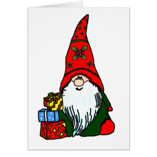 Happy Holiday Gnome Card