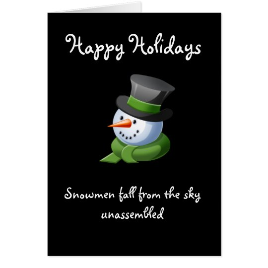 Happy Holiday Greeting Card