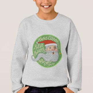 Happy Holiday Merry Christmas New Year Santa Claus Sweatshirt