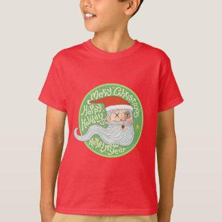 Happy Holiday Merry Christmas New Year Santa Claus T-Shirt