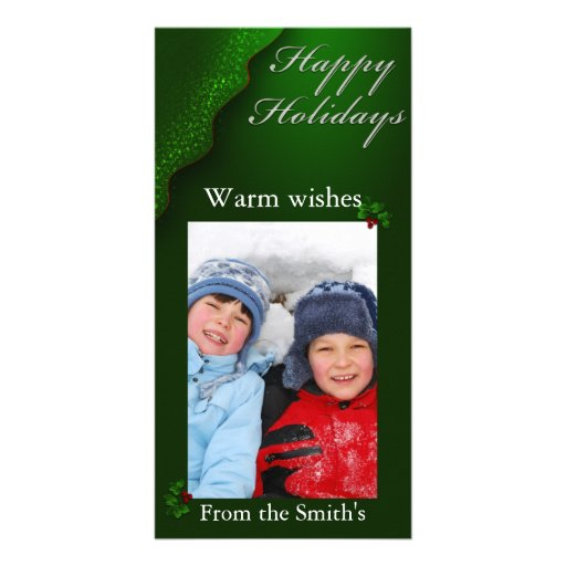 Happy Holiday Photo Card Template