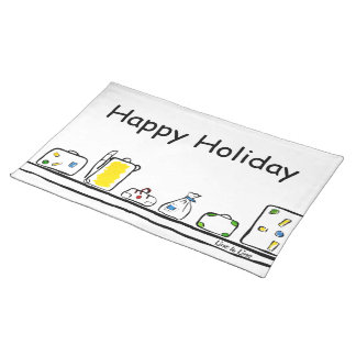 happy Holiday Placemats