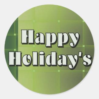 Happy Holiday s Sticker