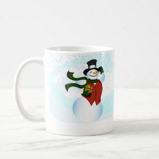 Happy Holiday Snowman Mug