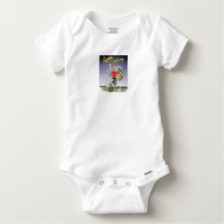 happy holiday soccer fans baby onesie