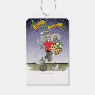 happy holiday soccer fans gift tags