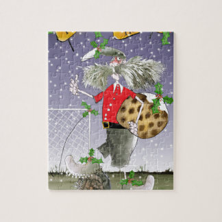 happy holiday soccer fans jigsaw puzzle