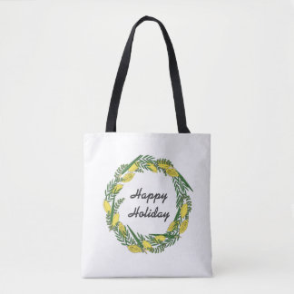 Happy Holiday Tote Bag