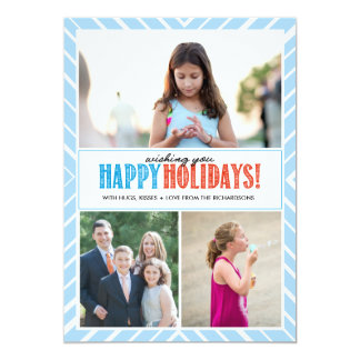 Happy Holiday Wishes x3 Card
