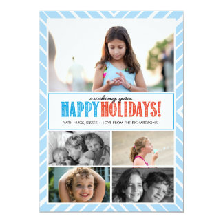 Happy Holiday Wishes x5 Card