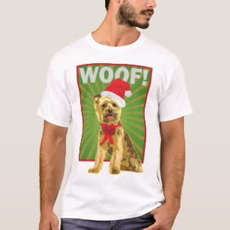 Happy Holiday Yorkie Dog T-Shirt