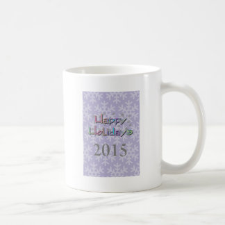 happy holidays 2015 mug