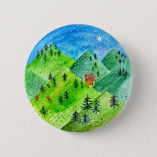Happy Holidays! 6 Cm Round Badge