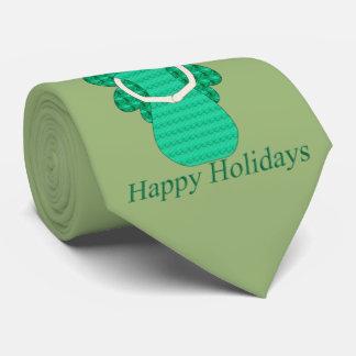Happy Holidays Angel Tie