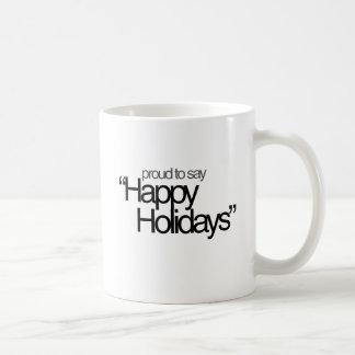 Happy Holidays Atheism Coffee Mug