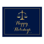 Happy Holidays Attorney Law Firm Scales
