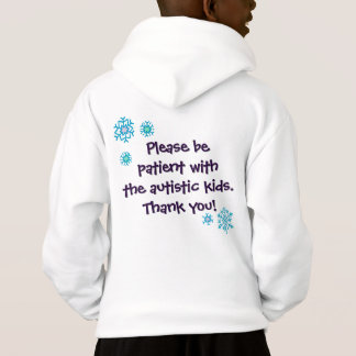 Happy Holidays Autism Awareness Sweatshirt - Light