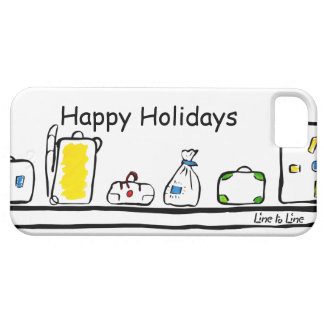 Happy Holidays Barely There iPhone 5 Case