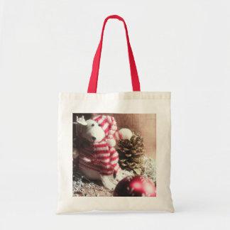 Happy Holidays Bear! Canvas Bag