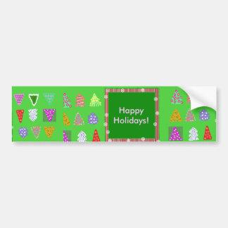 Happy Holidays! Car Bumper Sticker