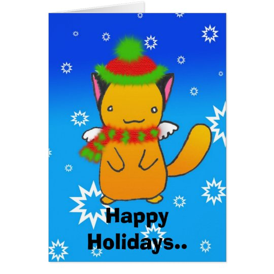 Happy Holidays.. Card