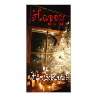 Happy Holidays Card Picture Card
