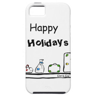 Happy Holidays Case For The iPhone 5