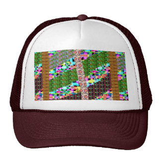 HAPPY Holidays Celebrations Art Xmas NewYear gifts Mesh Hat