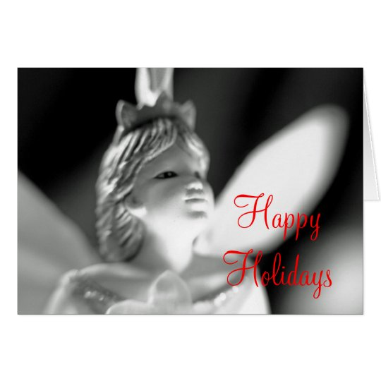 Happy Holidays Christmas fairy Card