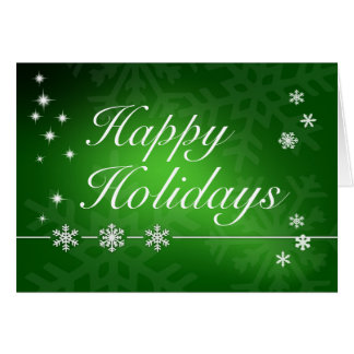 Happy Holidays - Christmas Greeting Card