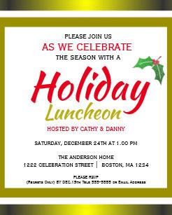christmas luncheon invitation christmas luncheon invite best letter