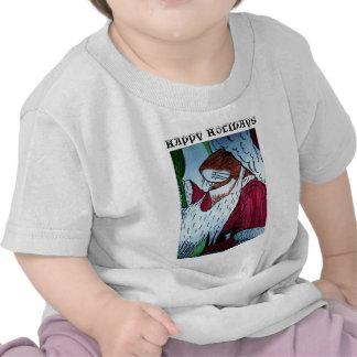 HAPPY HOLIDAYS christmas mouse child shirt