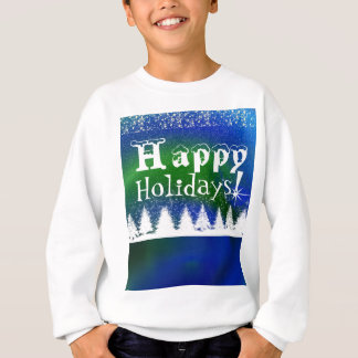 Happy holidays Christmas t-shirt for kids