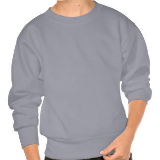 Happy Holidays: Christmas Tree: Vector Art: Pull Over Sweatshirt