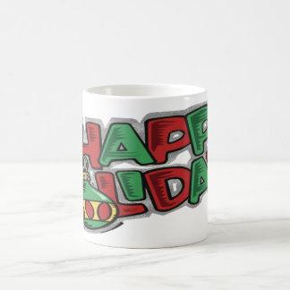 Happy Holidays - Classic White Mug