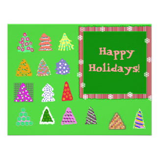 Happy Holidays! Custom Announcements