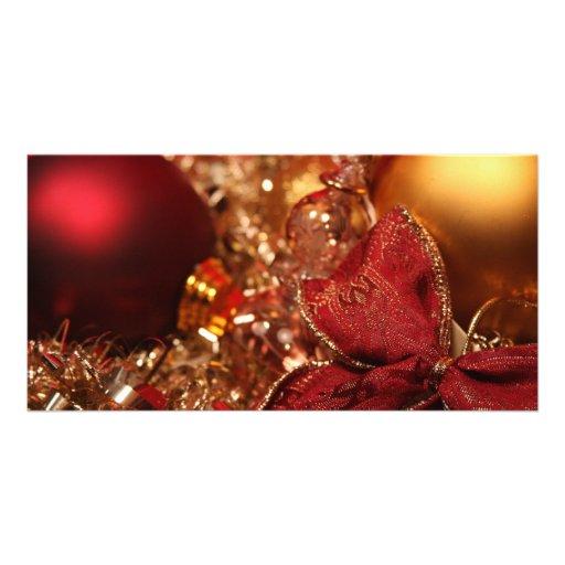 Happy Holidays Customized Photo Card