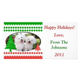 Happy Holidays Cute Photo Card