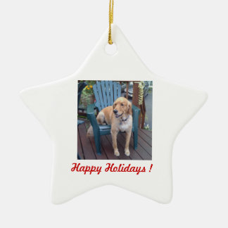 Happy Holidays ! - Dunbar Christmas Ornament