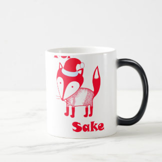 Happy Holidays For FOX Sake! Magic Mug